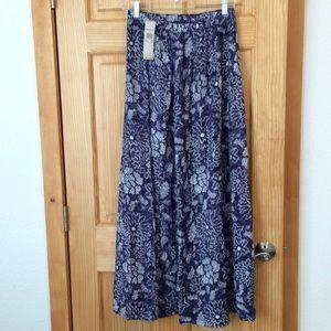 NWT Roxy Maxi Skirt
